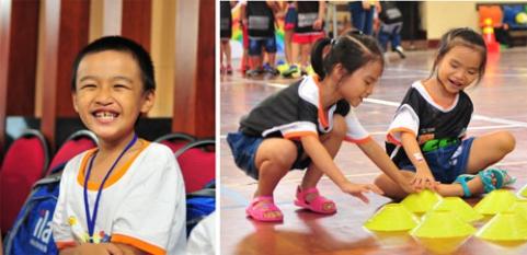 ILA chia sẻ niềm vui mùa hè cùng trẻ em kém may mắn